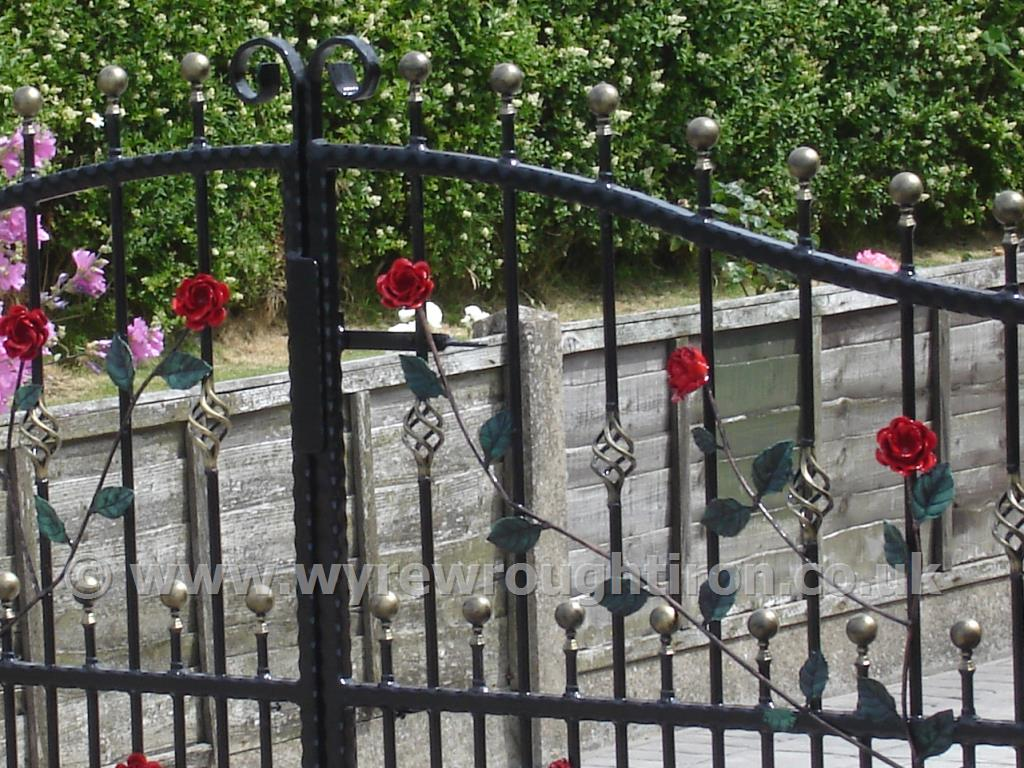 Wrought Iron Gates: Ornamental, Garden, Security