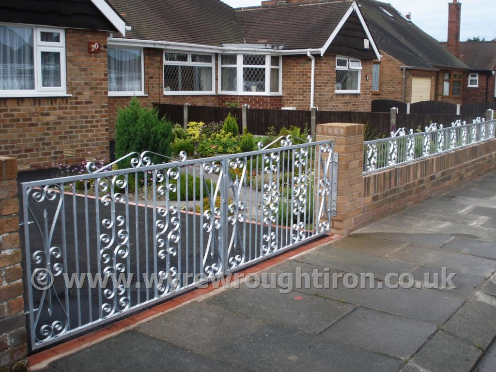 Wyre Wrought Iron Gates Ornamental Garden Security